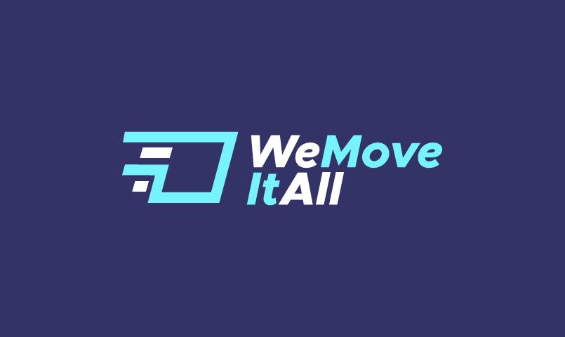 Wemoveitall - Technology company name for sale