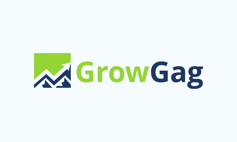 Growgag - Business startup name for sale