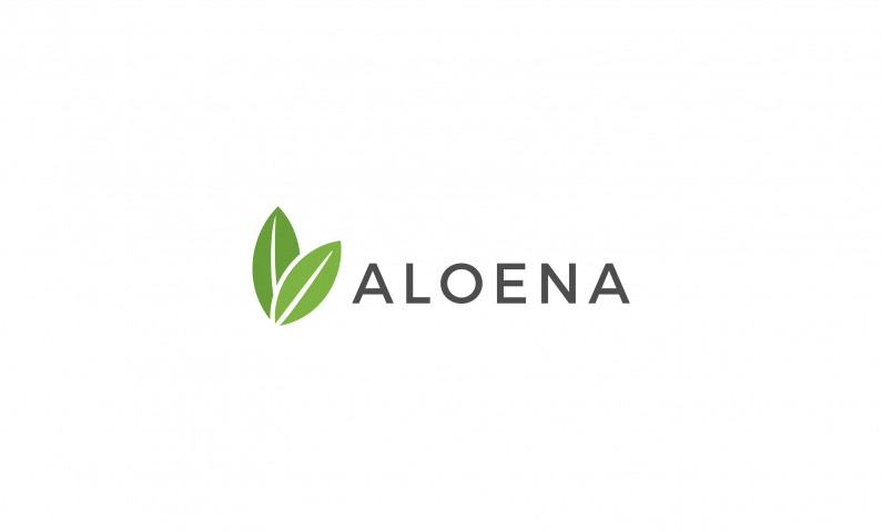 "Aloena - Say ""aloe"" to your new domain name"
