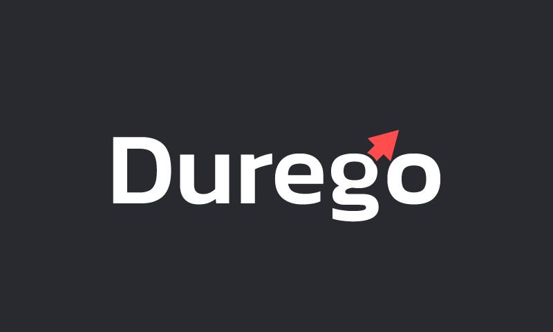 Durego - Brandable domain name for sale