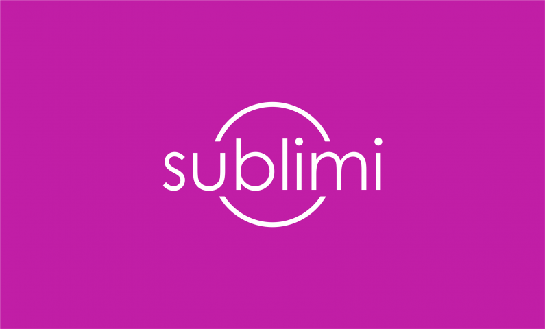 Sublimi - Possible startup name for sale