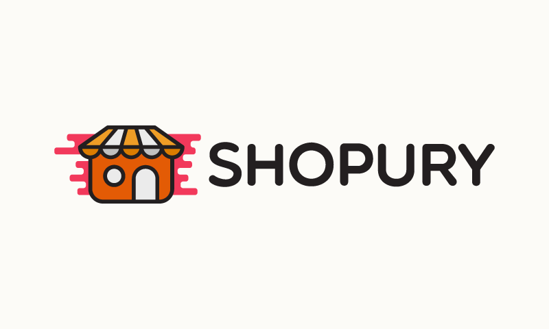 Shopury - E-commerce startup name for sale