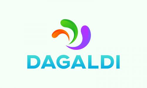 Dagaldi - Brandable startup name for sale