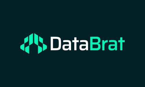 Databrat - Analytics startup name for sale