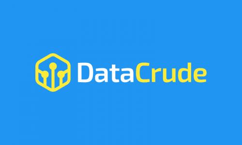 Datacrude - AI domain name for sale