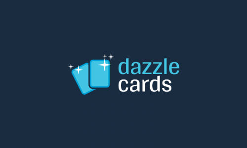 Dazzlecards - Print brand name for sale