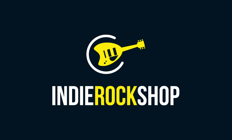 Indierockshop - Music brand name for sale