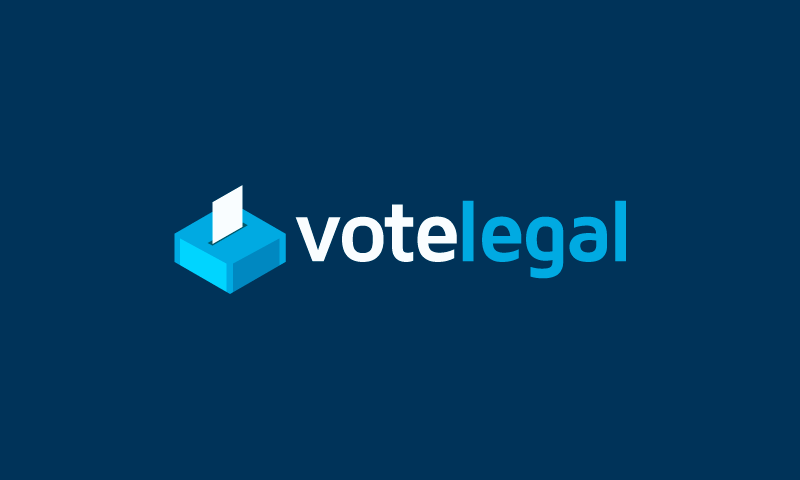 Votelegal - Legal startup name for sale
