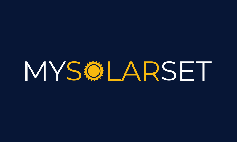 Mysolarset - E-commerce startup name for sale