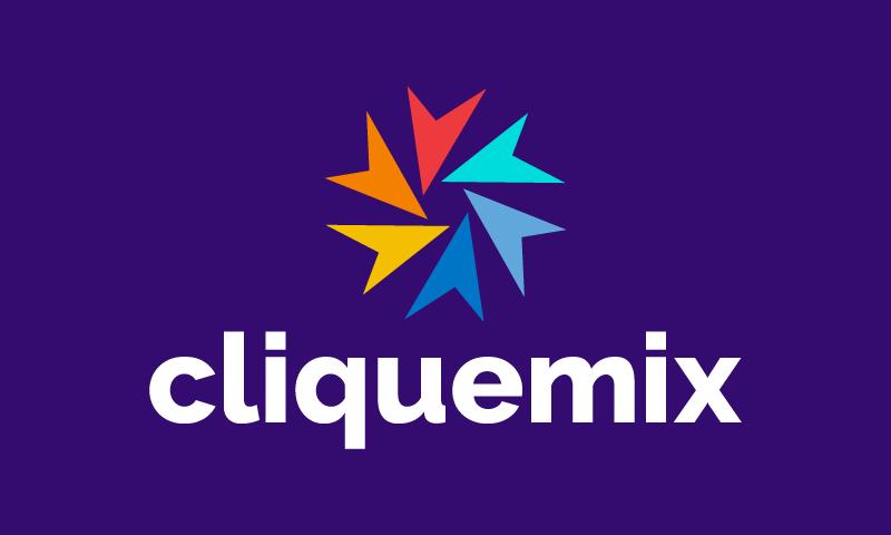 Cliquemix - Business domain name for sale