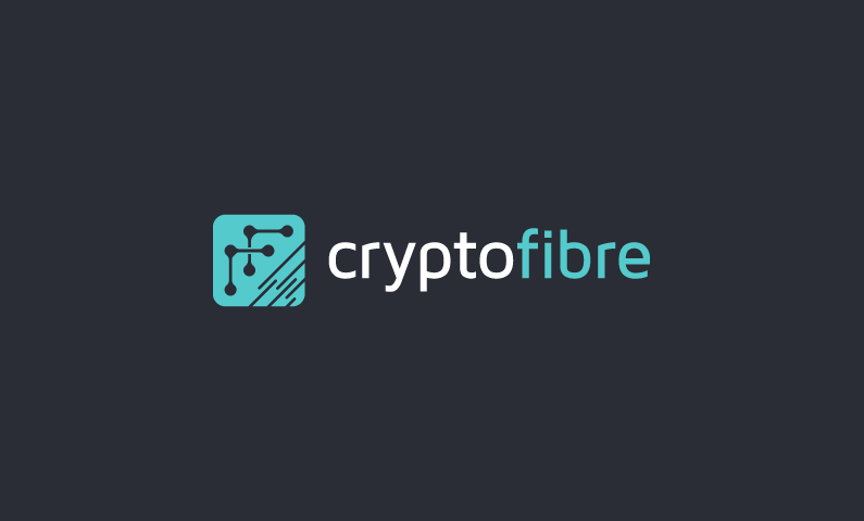 Cryptofibre - Cryptocurrency company name for sale