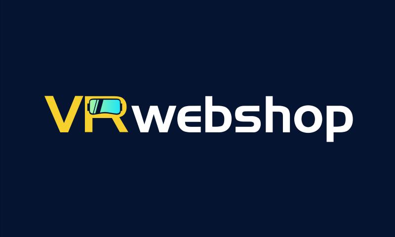 VRwebshop logo