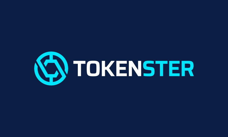 Tokenster - Cryptocurrency startup name for sale