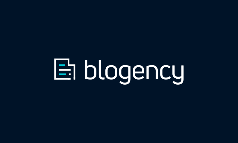 blogency logo