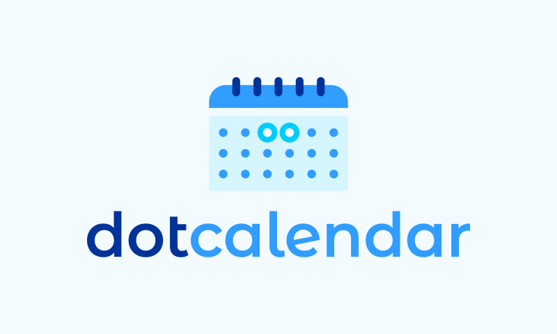 Dotcalendar - Events brand name for sale