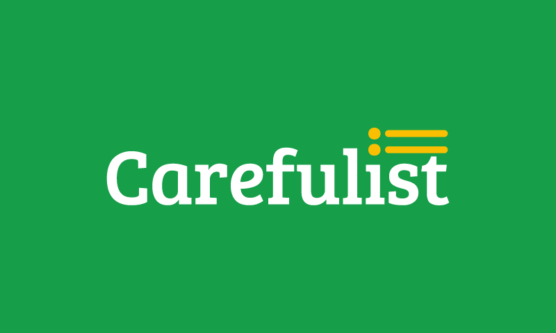 Carefulist - Business company name for sale