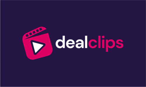 Dealclips - E-commerce business name for sale