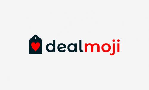 Dealmoji - Price comparison company name for sale