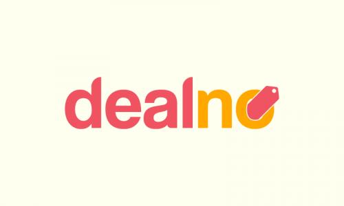 Dealno - E-commerce brand name for sale