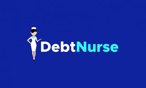 Debtnurse - Finance startup name for sale