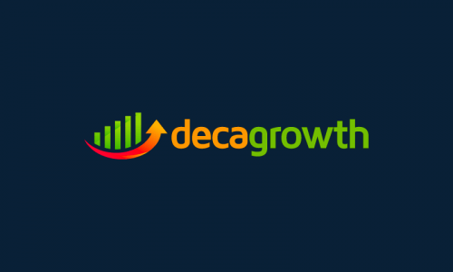 Decagrowth - Marketing brand name for sale