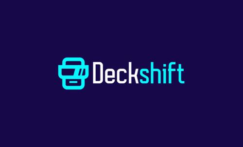 Deckshift - Interior design business name for sale