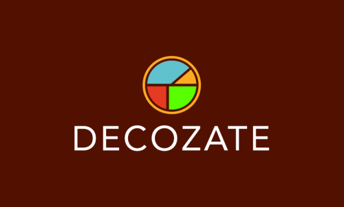 Decozate - Interior design domain name for sale