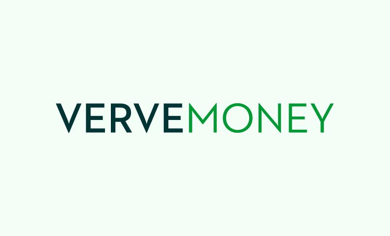 Vervemoney - Finance brand name for sale