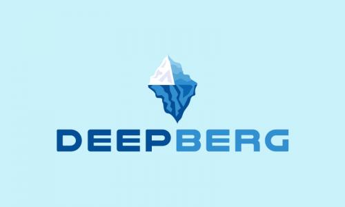 Deepberg - Modern business name for sale