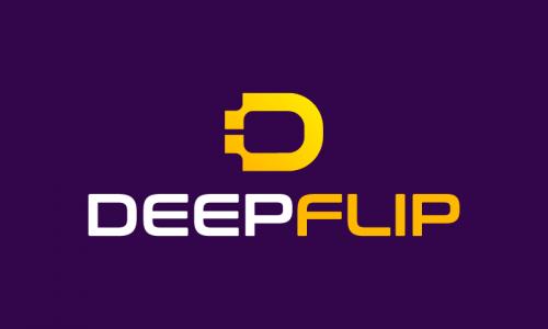 Deepflip - Music brand name for sale