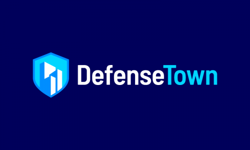 Defensetown - Security startup name for sale