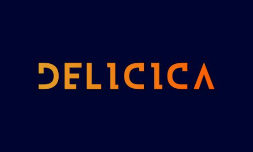 Delicica - E-commerce brand name for sale