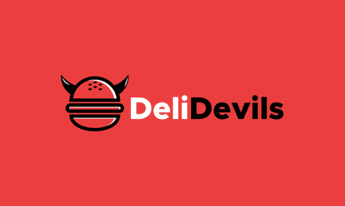 Delidevils - Food and drink company name for sale