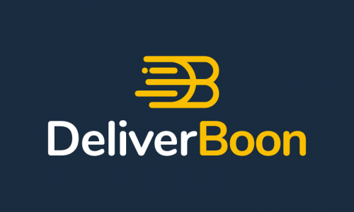 Deliverboon - Shipping brand name for sale