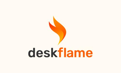 Deskflame - Business startup name for sale