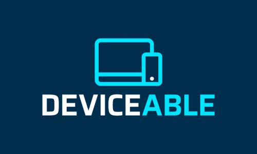 Deviceable - E-commerce domain name for sale