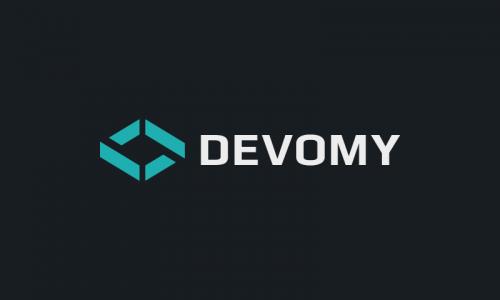 Devomy - Media startup name for sale