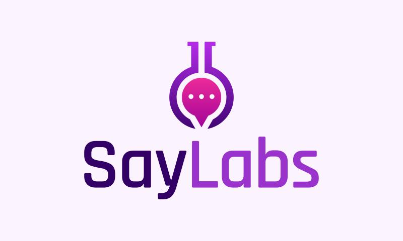Saylabs - Social company name for sale