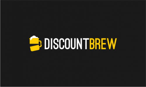 Discountbrew - E-commerce startup name for sale