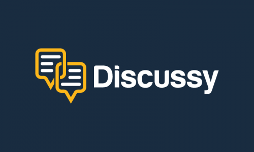Discussy - Chat business name for sale