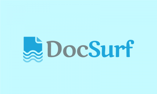 Docsurf - E-commerce business name for sale