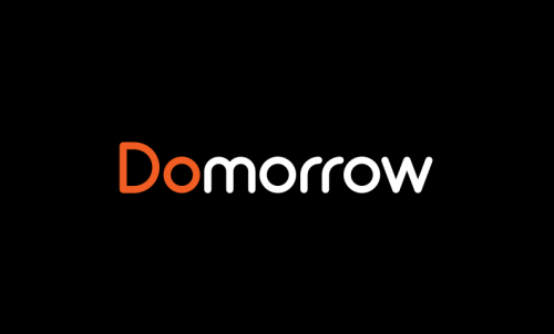 Domorrow - Food and drink company name for sale