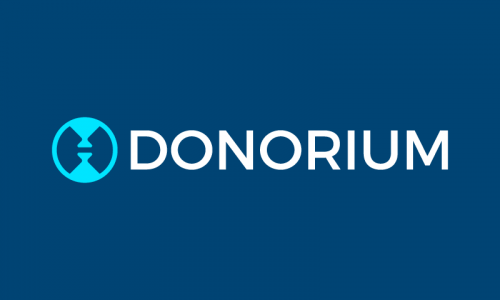 Donorium - Finance company name for sale