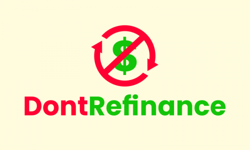 Dontrefinance - Finance product name for sale