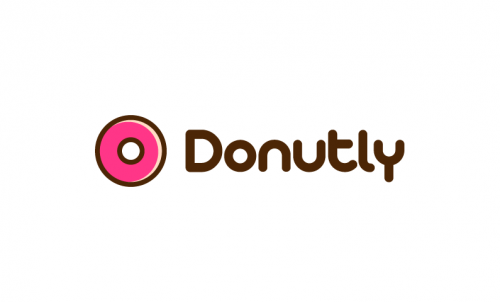 Donutly - Dining startup name for sale
