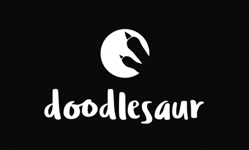 Doodlesaur - Fun and creative business or product name