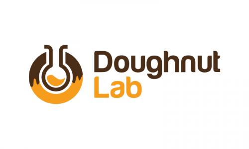 Doughnutlab - Playful startup name for sale