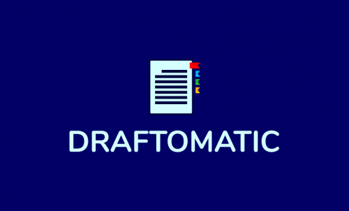 Draftomatic - Media business name for sale