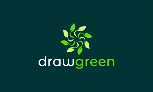 Drawgreen - Green industry startup name for sale