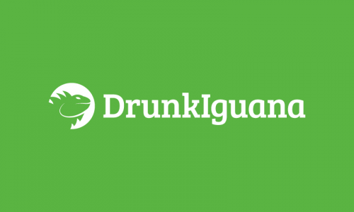Drunkiguana - Food and drink company name for sale